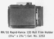 [RH10 Roll Film Holder]