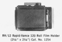 [RH12 Roll Film Holder]