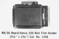 [RH20 Roll Film Holder]