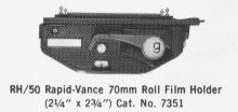 [RH50 Roll Film Holder]