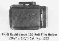 [RH8 Roll Film Holder]